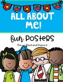 ALL ABOUT ME POSTERS { Melonheadz Kids }