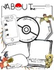 All About Me Posters-NO PREP-First Day of School-BONUS: Bulletin Board Letters