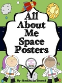 All About Me Posters Space Theme