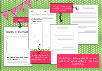 All About Me Posters {Super Scholar Edition} for K - 2nd