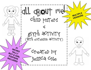 All About Me!! Posters and Glyphs