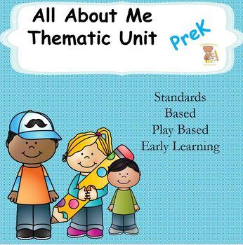 All About Me- Pre-k Unit