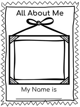 All About Me Preschool Unit
