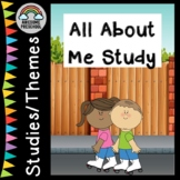All About Me - Back to school Study/Unit/Theme