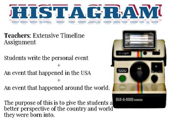 All About Me Project Histagram Google Slides Great Back to School Assignment