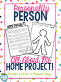 All About Me Project - Personality Person