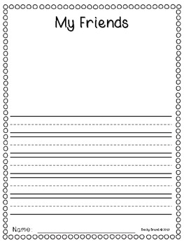All About Me - Publishing an Informative Writing Book (Common Core)