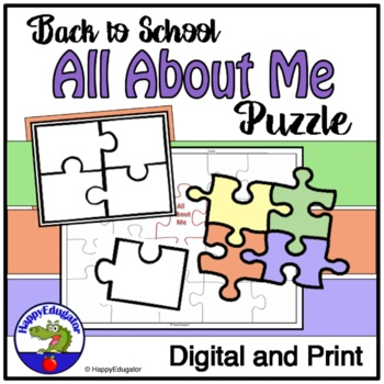 All About Me Puzzle