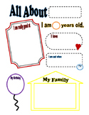 All About Me Questionnaire COLOR