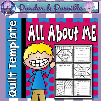 All About Me Quilt ~ Great Back to School / Get to Know Yo