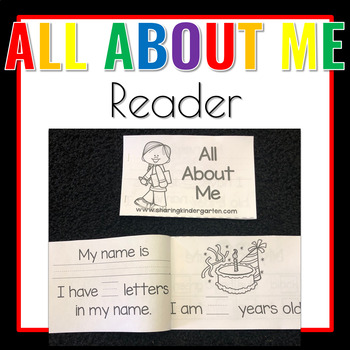 All About Me Reader