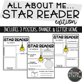 All About Me Reading Poster  Star Student Star Reader