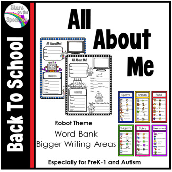 All About Me Robot Theme