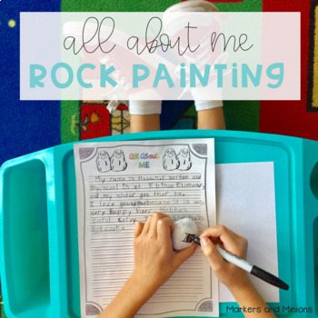 All About Me Rock Painting - Writing & Art Project