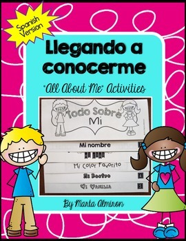 All About Me SPANISH (Flipbook and Activities)