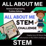 All About Me STEM Challenge - Back to School