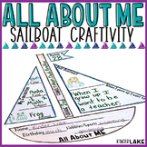 All About Me Sailboat