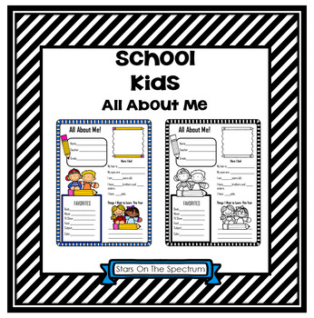 All About Me School Kids Theme