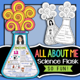 All About Me Science Flask - First Day of School Science Activity
