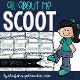 All About Me Scoot for Back to School