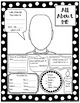 All About Me Self-Portrait Posters and Scavenger Hunt