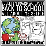 All About Me Poster Selfie - Back to School Activity 2nd Grade, 3rd Grade