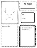 All About Me Sheet!