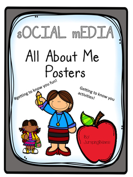 All About Me Social Media Pages