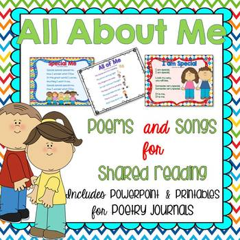 Back to School Songs for Shared Reading and Poetry Journals