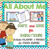Back to School Songs and Poems {Shared Reading}