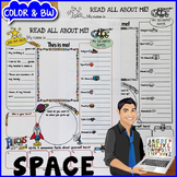 Space All About Me Poster