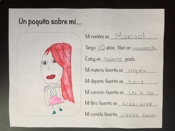 All About Me-Spanish