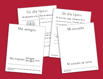 All About Me: Spanish Unit