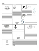 All About Me Spanish Worksheet Printable