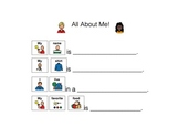 All About Me (Speech therapy, Language Delays, Autism)