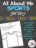 All About Me Sports Jersey