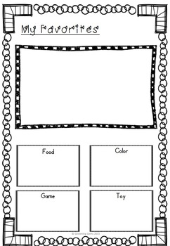 All About Me {Star of the Day Booklet}