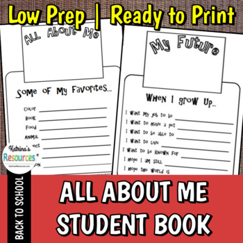 All About Me Student Book