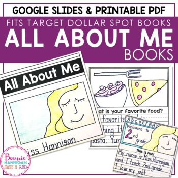 All About Me Student Books Digital and Print Versions