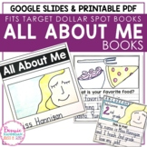 All About Me Student Books (8 x 8 size)