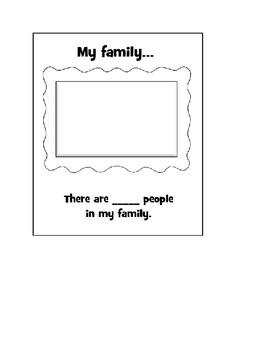 All About Me - Student Created Book