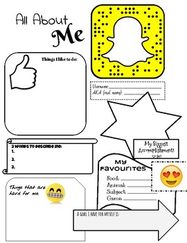 All About Me -Student Voice Transition Page