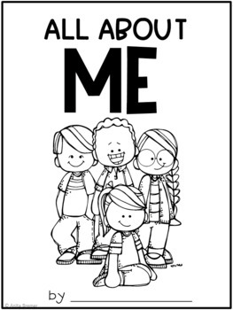 All About Me! {Student Workbook}