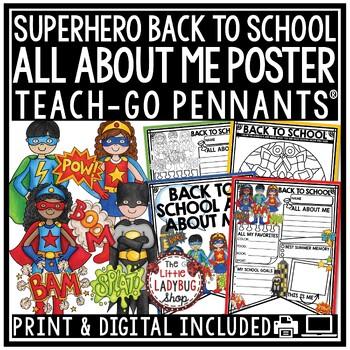 Back to School Activity - Superhero Theme