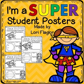 All About Me- Superhero Posters