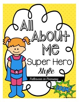 All About Me Superhero Style