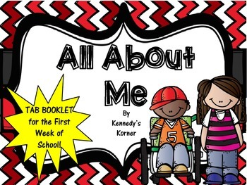 All About Me Tab Book ~ FREEBIE ~