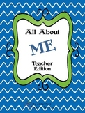 All About Me Teacher Edition