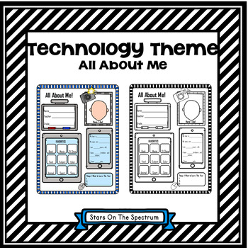 All About Me Technology Theme