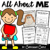 All About Me Thematic Unit: Perfect for Pre-K and K!